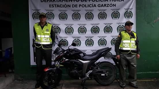 EN GARZON COMANDANTE DE ESTACION FABIAN PORTELA ENTREGO BALANCE DEL FIN DE SEMANA