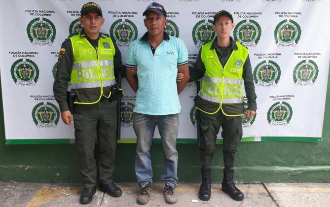 Hombre de 53 años acusado de abusar sexualmente de una menor de edad, fue capturado en Garzón