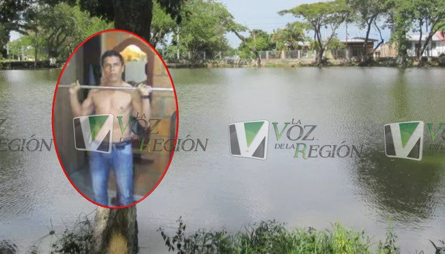 Borracho cayó al lago de Altamira y murió