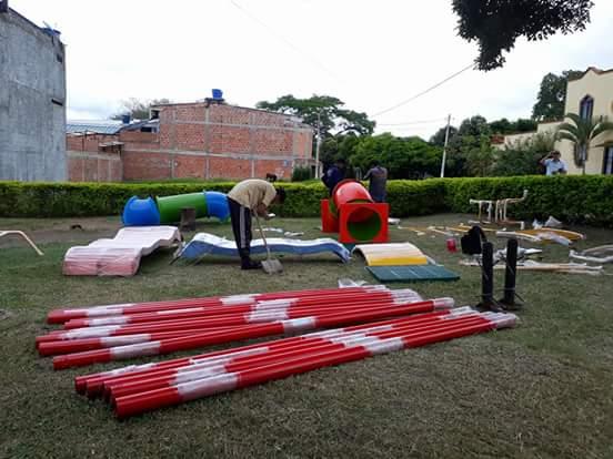 Instalan parque infantil en el barrio Ciudad Real