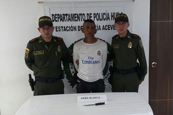 Asesinó a una trabajadora sexual en Acevedo porque no quiso pasar la noche con él