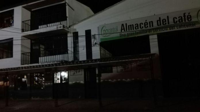 Millonario hurto a sede de Coocentral en Tarqui
