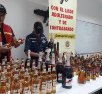 Más de $17 millones en licor adulterado se ha decomisado en el Huila en los últimos meses