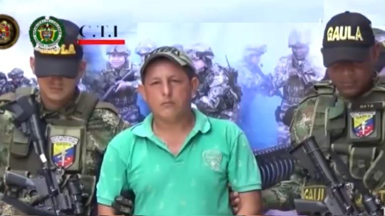 Autoridades capturaron disidente de Las Farc realizando extorsiones en Suaza