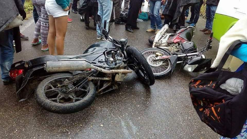 Grave accidente de tránsito en la vía Acevedo Pitalito, deja dos heridos