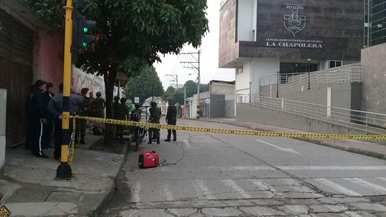 Alarma en Pitalito por falsa bomba en el edificio de la alcaldía
