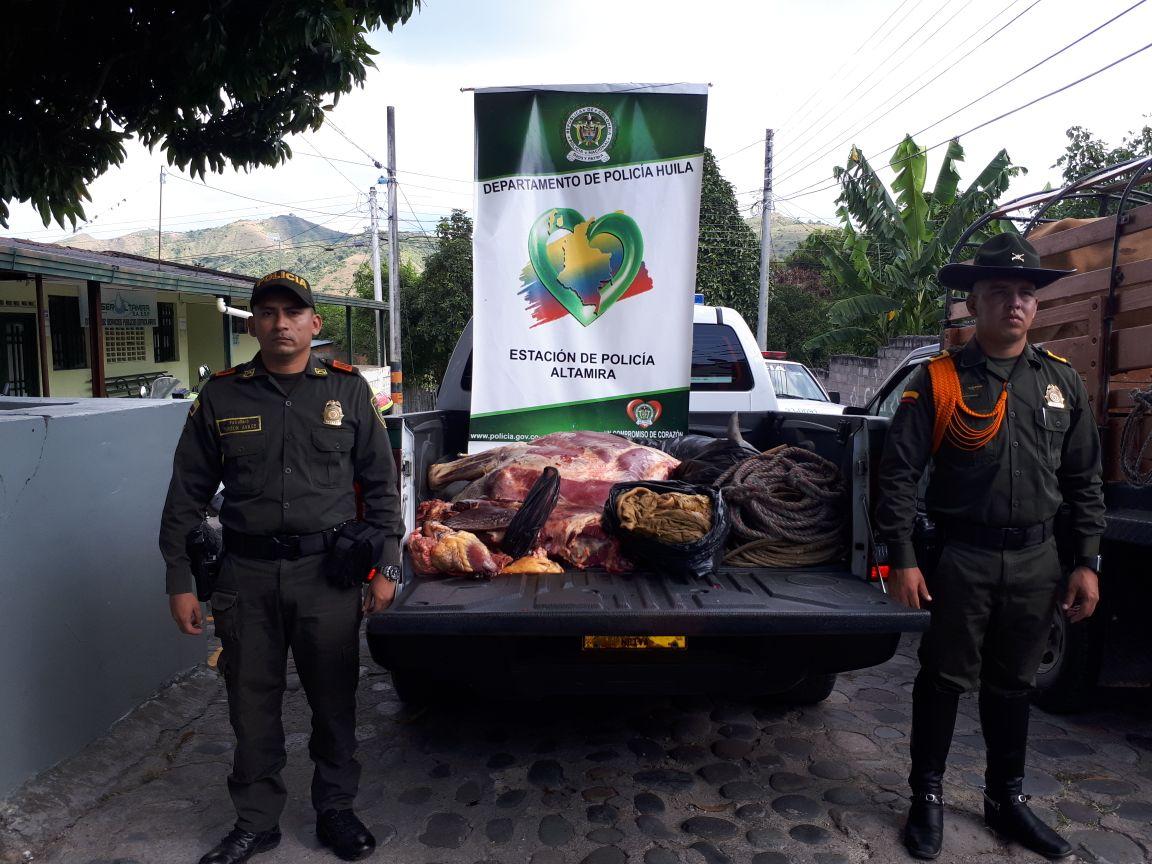 Policía desarticula otro matadero clandestino en Altamira