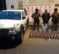 Gran cargamento de base de coca fue incautado en cercanías a Suaza