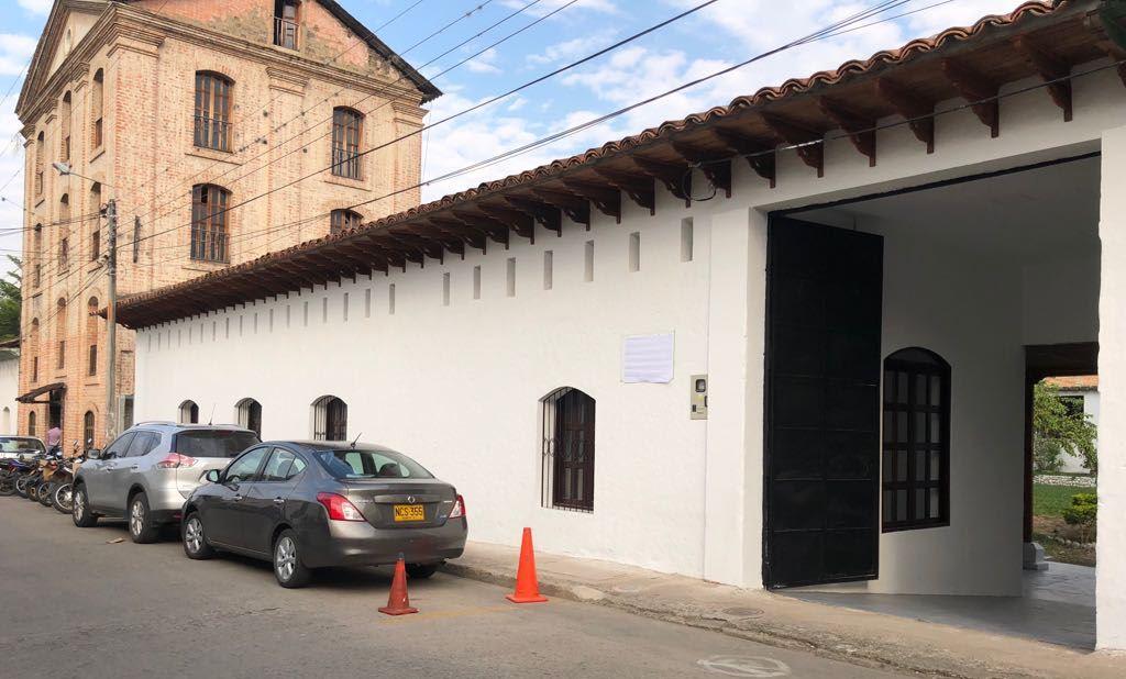 Culmina primera fase de obras en el centro cultural en Garzón