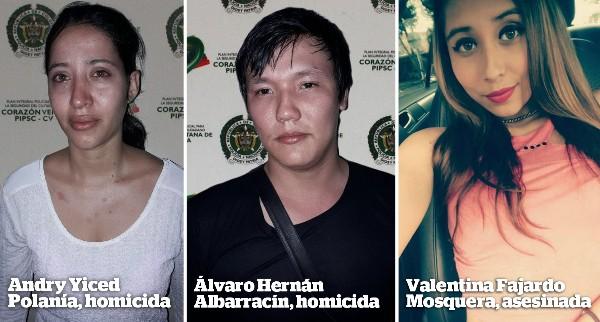 Verdugos de Valentina, tras las rejas