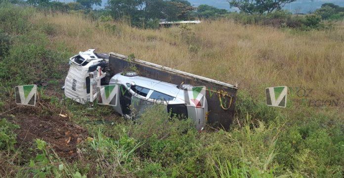 Un microsueño del conductor sería la causa de este accidente ocurrido en Los Altares
