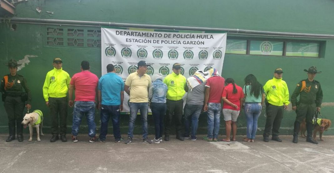 """Banda delincuencial """"Los Yoguis"""" fue desarticulada por las autoridades en Garzón"""