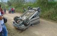 Dos adultos mayores lesionados tras accidentarse en la vía al Tecnoparque Yamboró de Pitalito