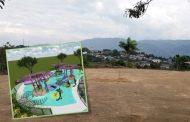Iniciaron obras para construir un parque biosaludable en Saladoblanco