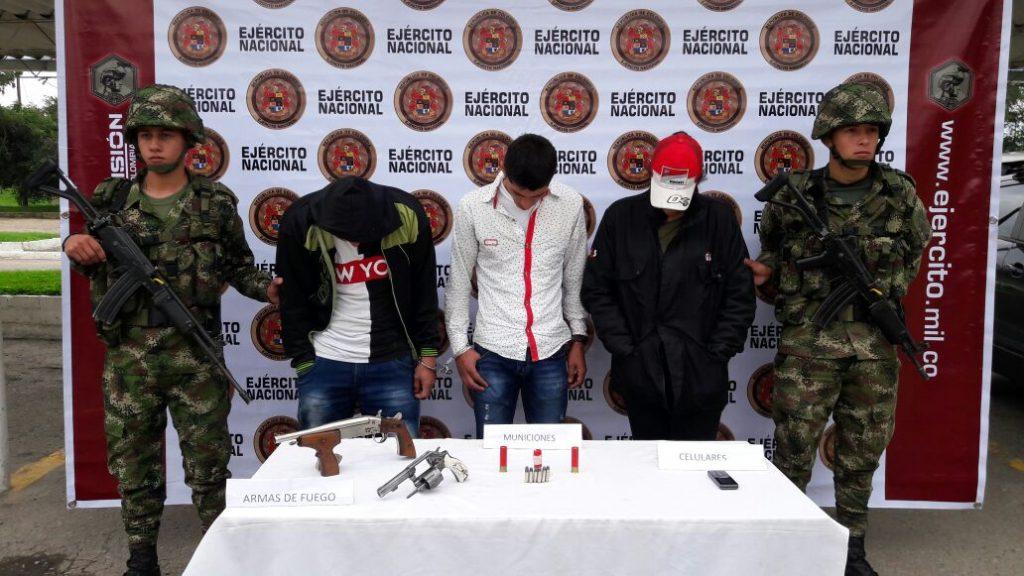 Ejército desarticula banda de piratería terrestre en Isnos