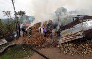 Voraz incendio, consumió establecimiento panelero en vereda de Isnos