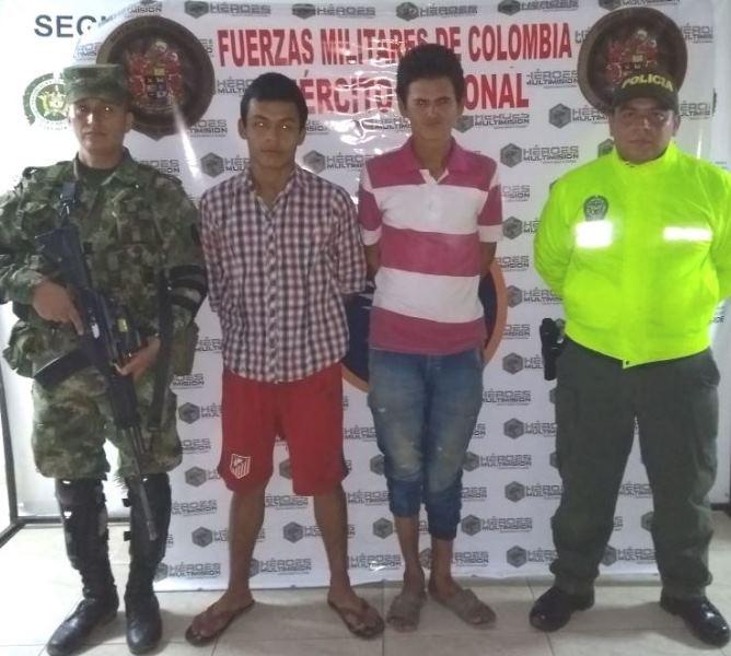Cuatro capturas en flagrancia y dos por orden judicial