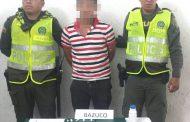 Habitante de la calle fue detenido con varias dosis de bazuco