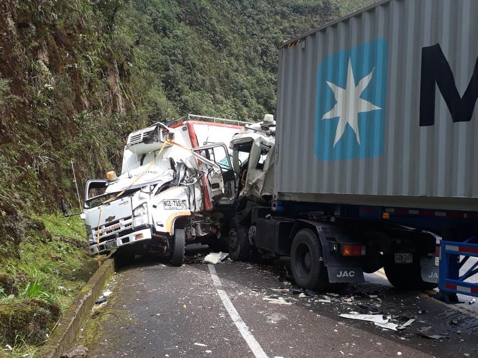 Dos personas heridas en aparatoso accidente en la vía Suaza Florencia