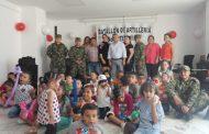 InfiHuila y el Ejército se unieron para celebrar el día de los niños en Neiva