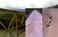 Denuncian riesgo de colapso en el puente que comunica hacia Maito en Tarqui