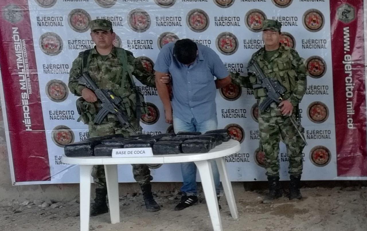 Millonario cargamento de alucinógenos fue incautado en Suaza