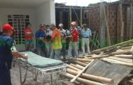 Obrero en delicado estado al sufrir accidente laboral en Garzón