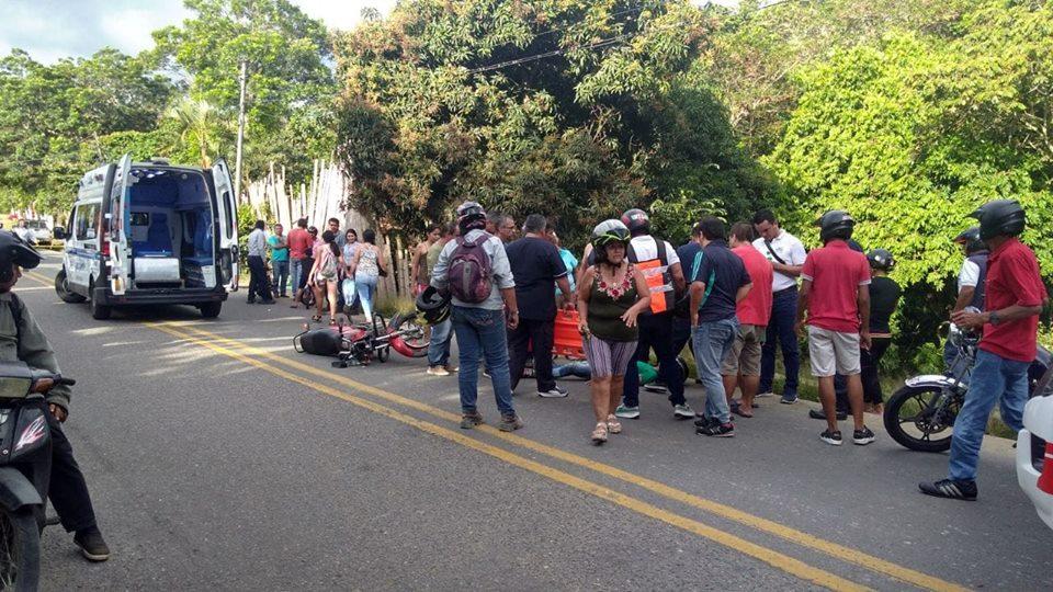 Nuevo accidente de transito registrado en el barrio San Isidro de Garzón