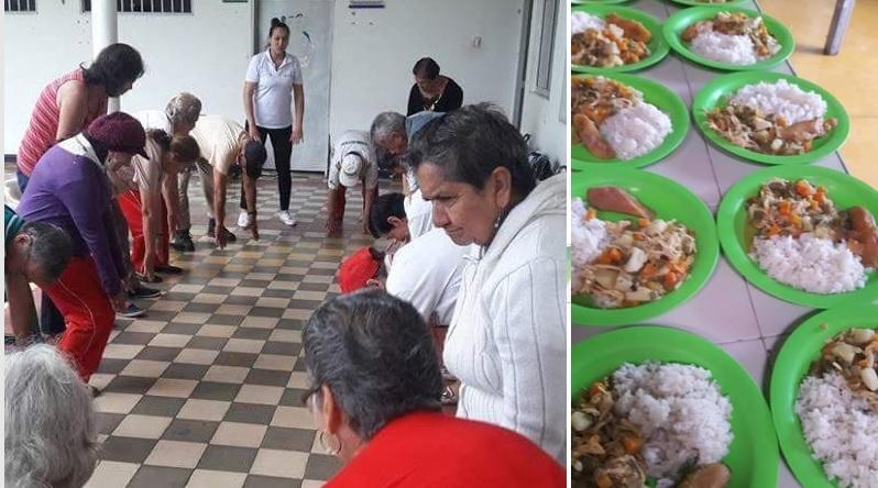 Positivos resultados de apoyo social a los adultos mayores de Tarqui
