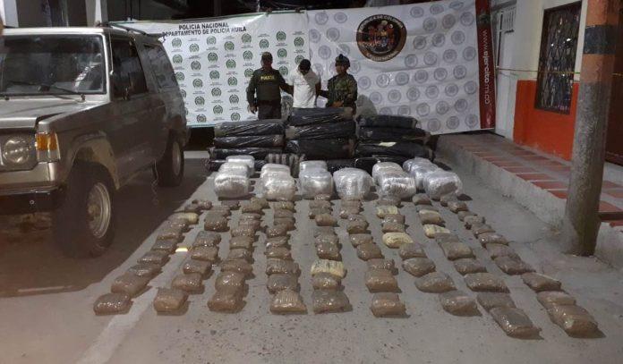 Millonaria incautación de marihuana en La Plata, 518 kilogramos eran transportados