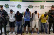 """Banda delincuencial """"los de Nacho"""", fue desarticulada tras dos meses de asedio policial"""