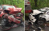 Aparatosa colisión vehicular este jueves entre Hobo y Gigante