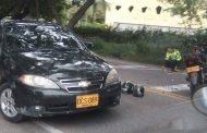 Aparatosa colisión en la vía entre Neiva y Rivera deja dos jóvenes gravemente heridos