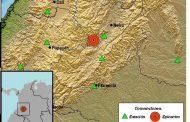 Nuevo movimiento telúrico fue registrado en el municipio de Tesalia