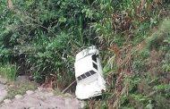Cinco personas gravemente heridas al accidentarse una camioneta en Acevedo