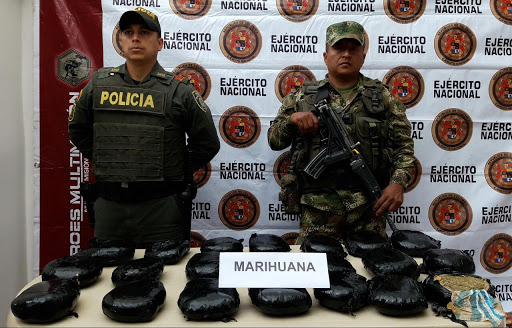 EJÉRCITO INCAUTÓ MARIHUANA PERTENECIENTE A LOS