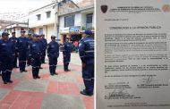 Bomberos de Acevedo suspendieron actividades