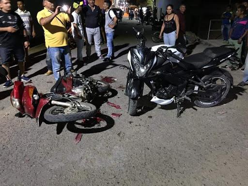 TRASLADADOS A GARZÓN MOTOCICLISTAS HERIDOS EN EL PITAL.