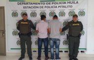 Capturan dos personas por agredir a un Policía en Pitalito