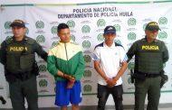 Capturan dos jóvenes por herir a una persona en medio de una pelea, en La Plata, Huila