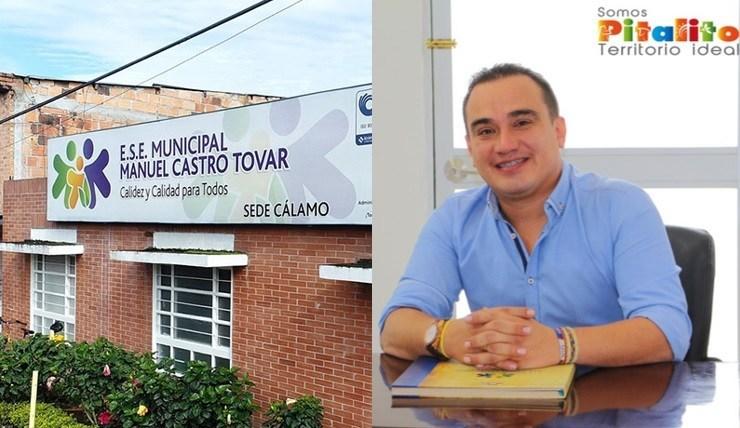 Gerente de la ESE Manuel Castro Tovar, rechaza señalamientos sobre participación en política