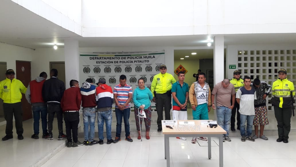 BANDA DELINCUENCIAL DEDICADA AL TRÁFICO DE ESTUPEFACIENTES, HURTO E INSTRUMENTALIZACIÓN DE MENORES