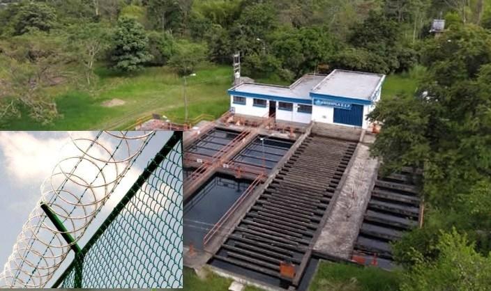 Construirán cerramiento perimetral de la PTAP del acueducto en La Plata
