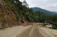 En un 72% avanza pavimentación de la vía La Plata-Belén