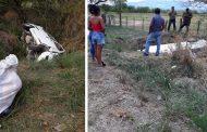 Aparatoso accidente de tránsito en la vía entre Campoalegre y Hobo