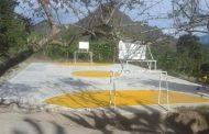 Complacencia en Maito por entrega de polideportivo