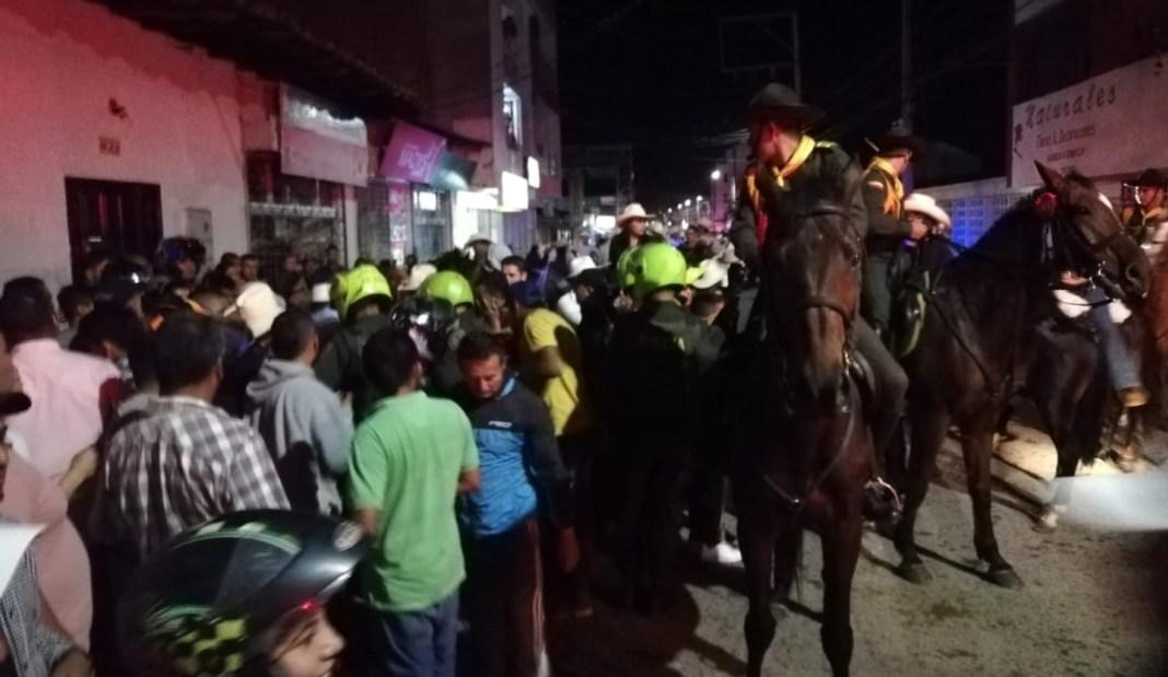 Intolerancia en Pitalito, caballista fue baleado en pleno desfile