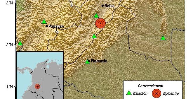 Reportan evento sísmico con epicentro en cercanías a Algeciras
