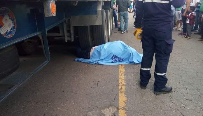 Hombre murió en trágico accidente registrado en la vía Pitalito – Bruselas