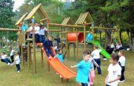 Áreas para el juego y la recreación serán construidas en hogares infantiles de Gigante